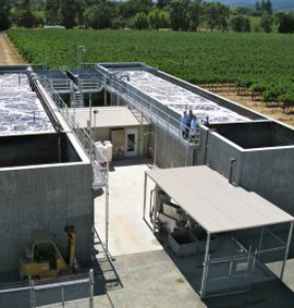 Winery Water and Wastewater Treatment facility by Waterform