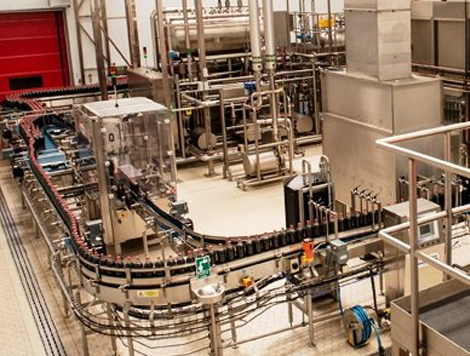 Beverage production hygienic water solutions