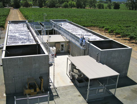 Winery Wastewater Treatment Facility by Waterform